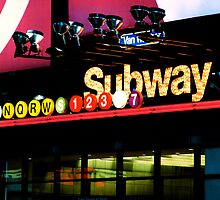 New York City Subway by abfabphoto