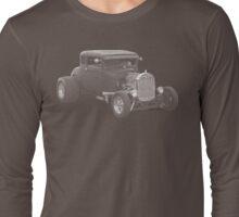 Hot Rod Ford Mono Long Sleeve T-Shirt