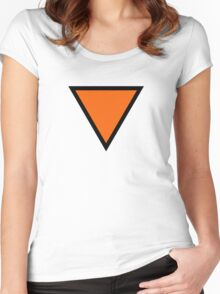 Roundel of the Royal Netherlands Air Force, 1939-1942 Women's Fitted Scoop T-Shirt