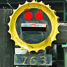 Happy Face Mailbox by Penny Smith