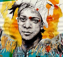 Jean-Michel Basquiat by Mitja Bokun