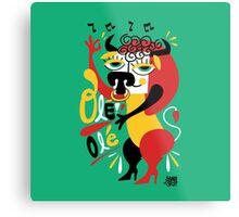 Toro loco - Crazy bull spanish ole ole Metal Print