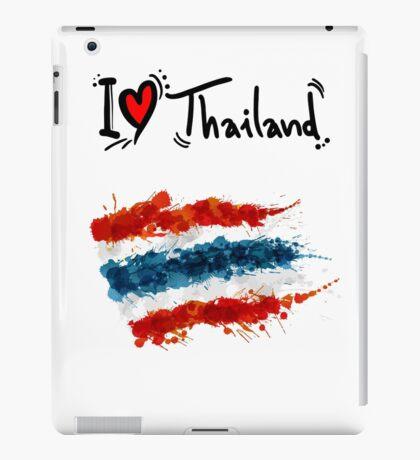 I LOVE THAILAND FLAG iPad Case/Skin