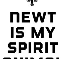 Newt is my spirit animal by Rivers Turow