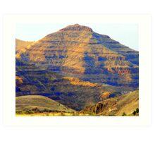 Picture Gorge Basalt Art Print