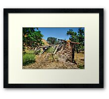 Mudd Shack 1 Framed Print