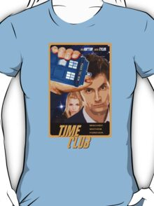 Time Club   Doctor Who   The Tenth Doctor & Rose Tyler T-Shirt