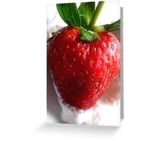 Birthday Strawberry Greeting Card