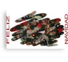 CHRISTMAS CARD 2 Canvas Print