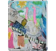 Sue and Ralf Take the Tumoulin-to-Ravenshoe Train iPad Case/Skin