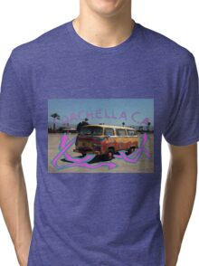Coachella Bus Tri-blend T-Shirt