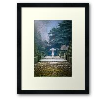 Garden of Valsanzibio Framed Print