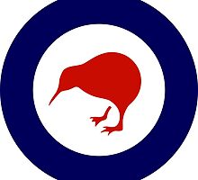 Roundel of New Zealand Air Force  by abbeyz71