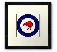 Roundel of New Zealand Air Force  Framed Print