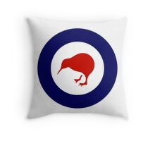 Roundel of New Zealand Air Force  Throw Pillow