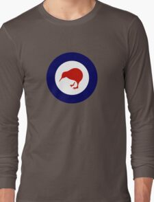 Roundel of New Zealand Air Force  Long Sleeve T-Shirt