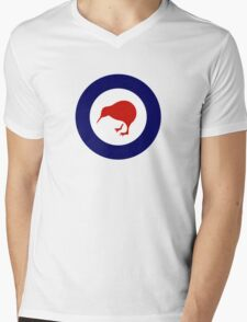 Roundel of New Zealand Air Force  Mens V-Neck T-Shirt
