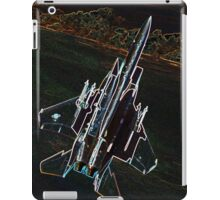 Neon F-15 Fighter Jet iPad Case/Skin