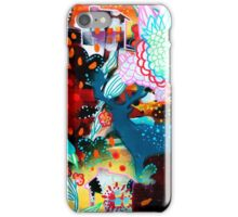 the nordic summer night iPhone Case/Skin