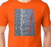 Red, White and Blurred Unisex T-Shirt