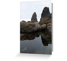 Haystack Rocks (Color) Greeting Card
