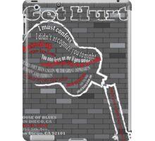 The Gaslight Anthem Get Hurt Tour Poster  iPad Case/Skin
