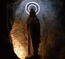 Our Lady of Lourdes Grotto by meklarian