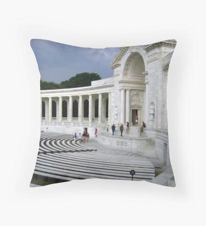 Memorial Ampitheatre  Throw Pillow