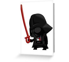 Darth Vader's Disappointment Greeting Card