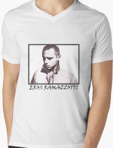 Eros Ramazzotti Mens V-Neck T-Shirt