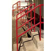 Handrails Photographic Print