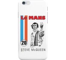 STEVE McQUEEN LE MANS iPhone Case/Skin