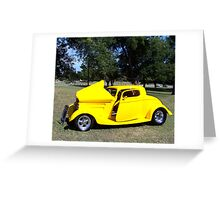 1933 Ford Coupe Greeting Card
