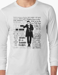 Elevent hour - on white Long Sleeve T-Shirt