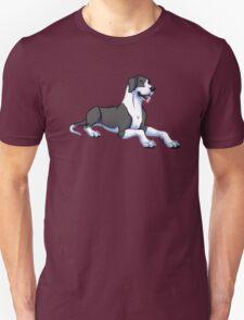 Great Dane - Mantle - Foppy Ears  Unisex T-Shirt