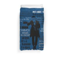 Eleventh hour Duvet Cover