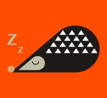 Sleeping Hedgehog  T-Shirt