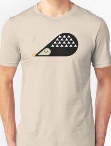 Sleeping Hedgehog  Unisex T-Shirt