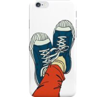 colored pattern gym shoes iPhone Case/Skin