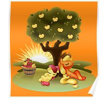 My Little Pony FiM - Apple Sisters Poster