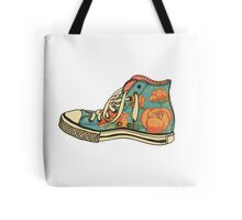 colored pattern gym shoes Tote Bag