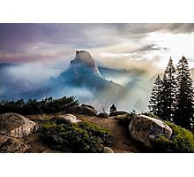 Half Dome in a Haze Photographic Print