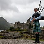 The Bagpiper by Marylou Badeaux