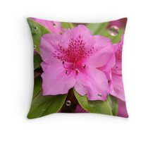 Azalea Bubbles Throw Pillow