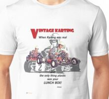 Vintage Karting, When Karting was real  Unisex T-Shirt