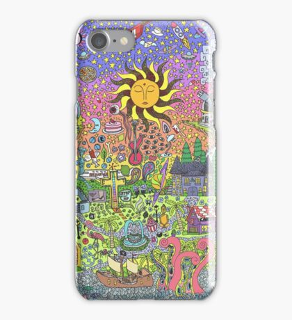 PSYCHEDELIC SUNSET iPhone Case/Skin