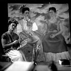 I Can't Resist this Portrait of Frida Kahlo by Lazarita Betancourt