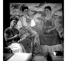 I Can't Resist this Portrait of Frida Kahlo Photographic Print