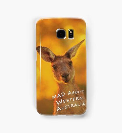 Kangaroo - MAD About Western Australia (Galaxy Case) Samsung Galaxy Case/Skin