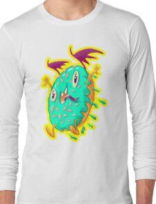 Dunky Glaze: The Demon Donut Long Sleeve T-Shirt